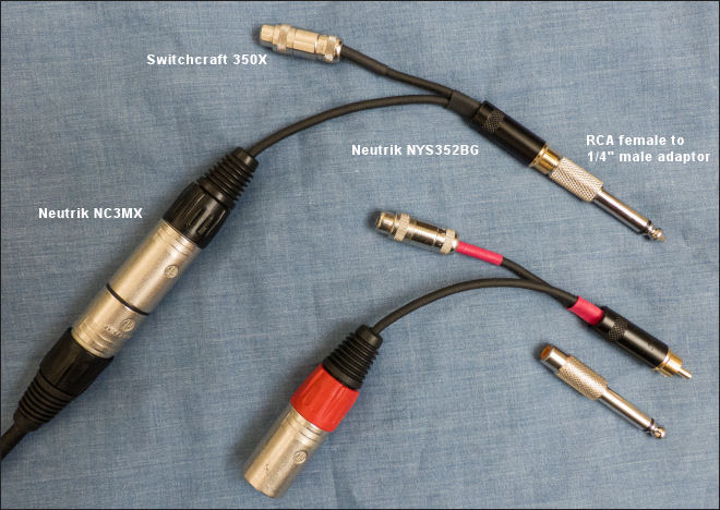 time between the notes... | Project - Sound board patch cable